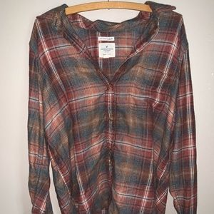 American Eagle Flannel     worn once